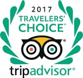 TripAdvisor Travellers Choice 2017